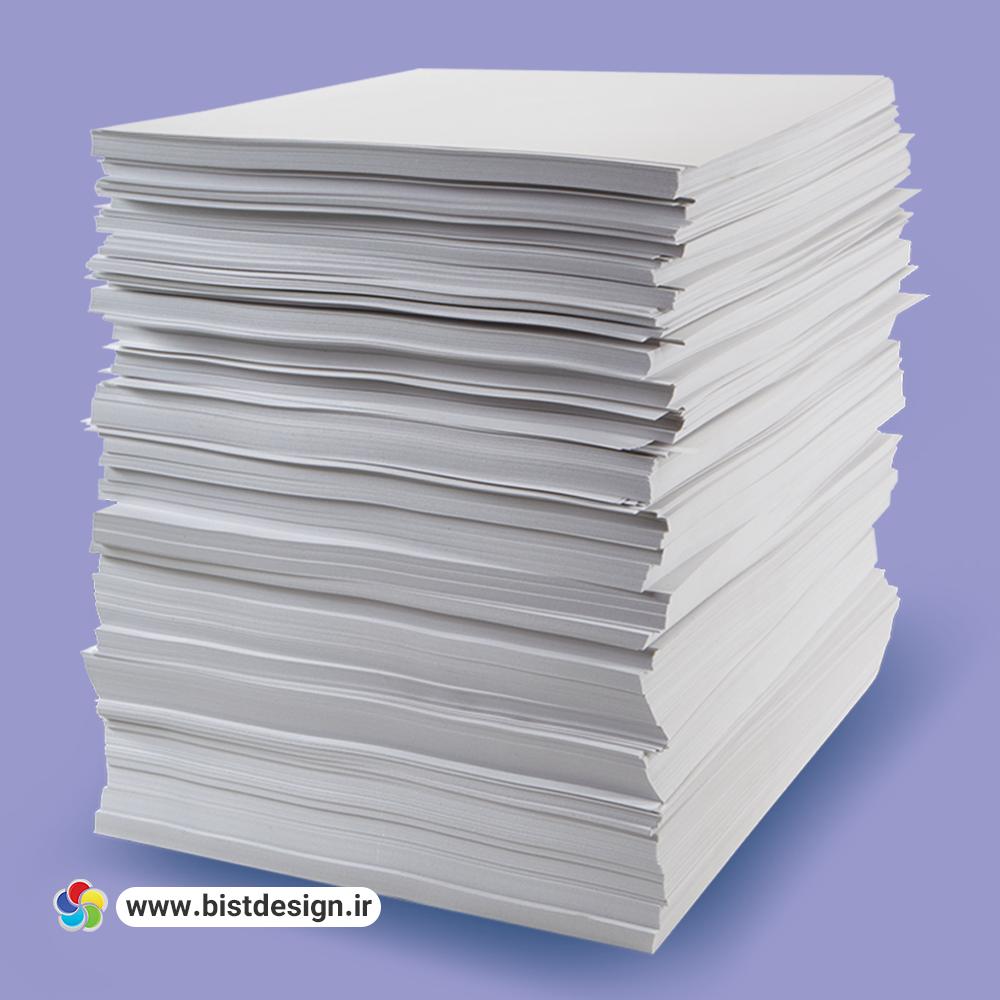 آشنایی جامع و کاربردی با انواع کاغذ